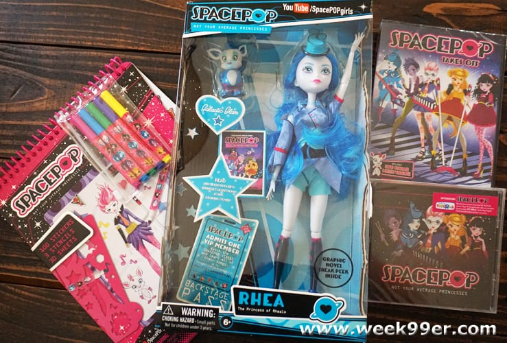 spacepop toys and movie review