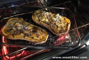 Apple and Sausage-Stuffed Butternut Squash Recipe