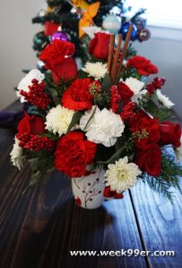 teleflora Send a Hug Christmas Cardinal Bouquet Review