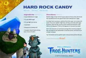 DreamWorks Trollhunters Rock Candy Recipe