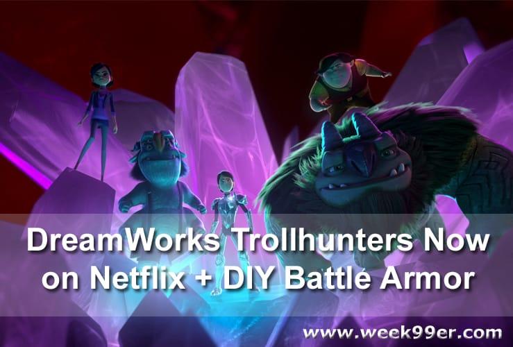 DreamWorks Trollhunters Netflix