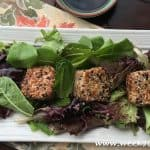 Seared Sesame Tuna with Greens Recipe