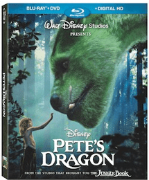 Pete's Dragon bluray