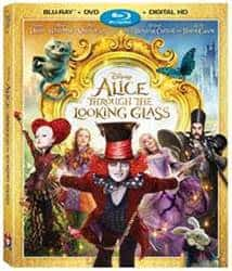 Alice Thru the Looking Glass bluray