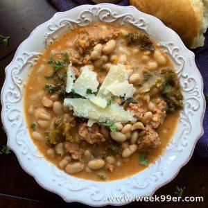 White bean and sausage soup recipe gluten free
