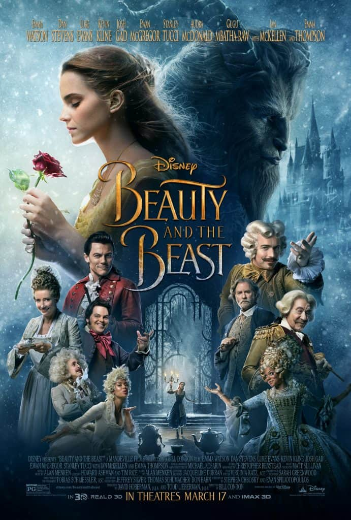 beauty and the beast 2017 poster