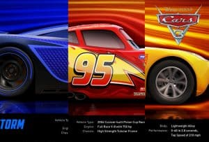 Meet the New Characters in Cars 3! #Cars3 #Naias