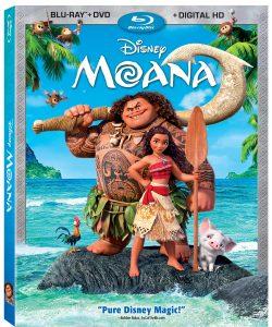 Moana Blu-Ray Release