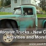 Monster Trucks New Clips, Activity Sheets + More #MonsterTrucks