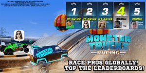 monster trucks app