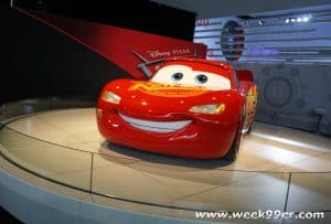 Cars 3 at NAIAS Lightning McQueen