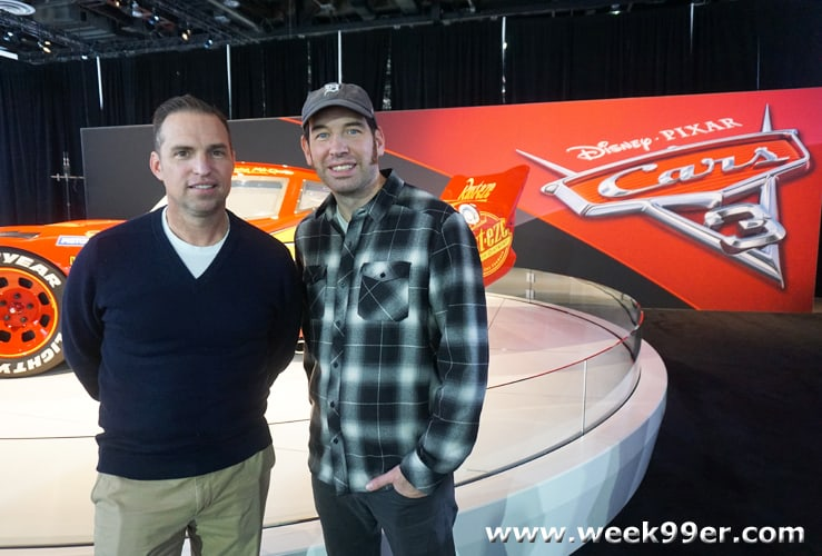 Interview with Jay Ward and Jay Shuster about Cars 3