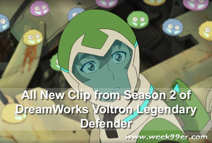 All New Clip from Season 2 of DreamWorks Voltron Legendary Defender #Voltron