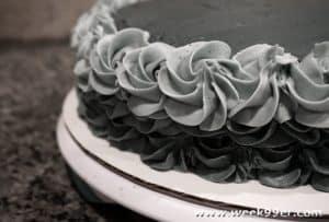 50 Shades Darker Cake