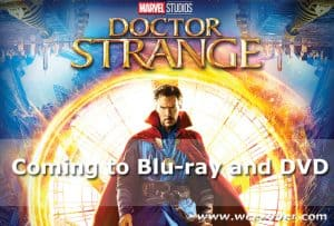 Doctor Strange is Coming to Blu-Ray and Digital HD #Doctorstrangeevent