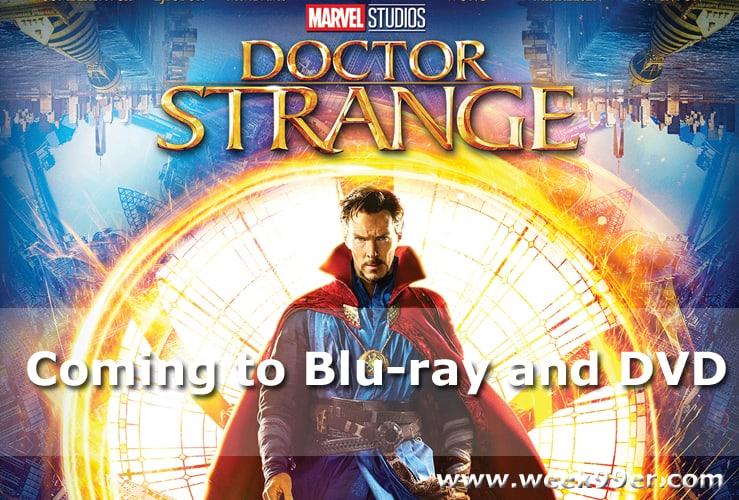 Doctor Strange release date dvd