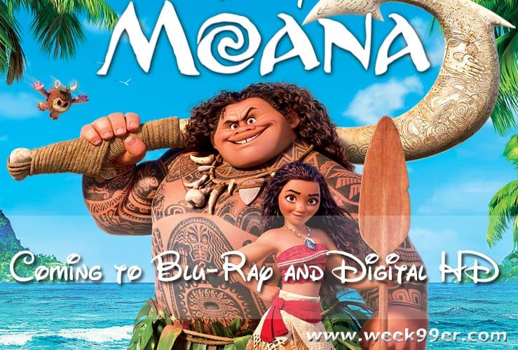 moana blu-ray Release date