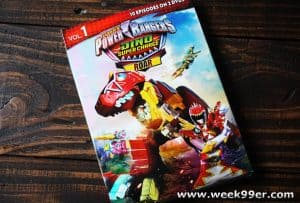 Power Rangers Dino Super Charger Roar is now on DVD + Printable Activity Sheets