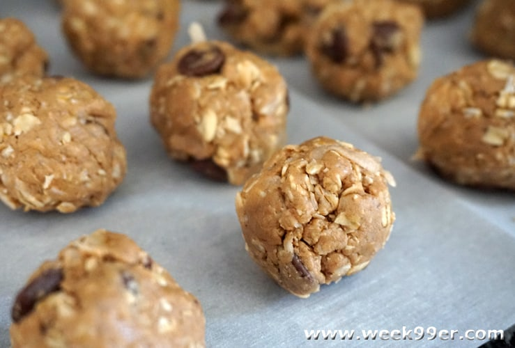 Easy No Bake Chocolate Peanut Butter Protein Balls Recipe