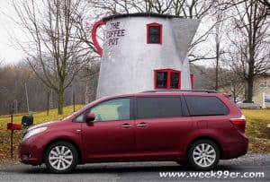 Road Tripping with Friends Giant Coffee Pot