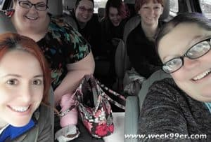 Road Tripping with friends