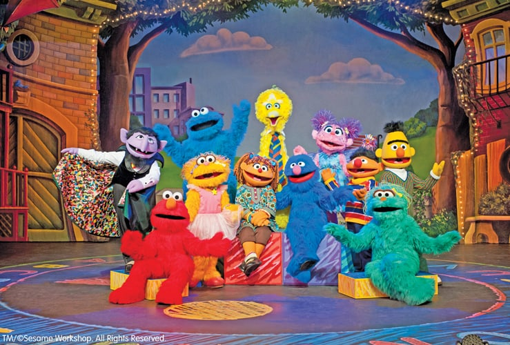 sesame Street Live at the Fox in Detroit
