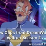 New DreamWorks Voltron Season 2 Clips #Voltron