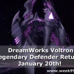 DreamWorks Voltron Legendary Defender Returns January 20th + Trailer! #Voltron