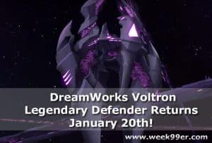 DreamWorks Voltron Legendary Defender Returns January 20th + Trailer! #Voltron