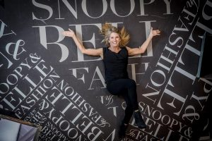 snoopy and bell in fashion jill schulz interview