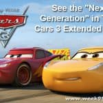 "See the ""Next Generation"" in this Cars 3 Extended Look #Cars3"