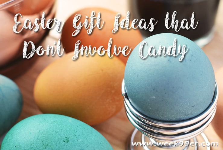 Easter Gift Ideas no candy