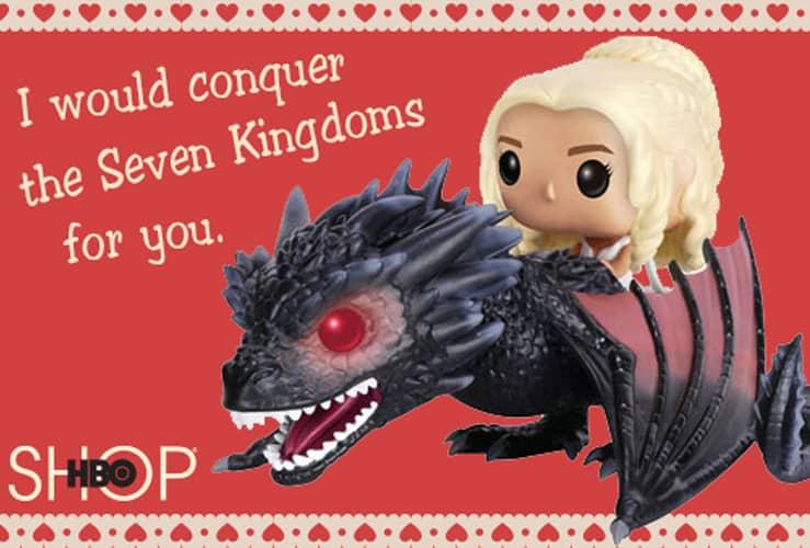 Game of Thrones Valentine Printable