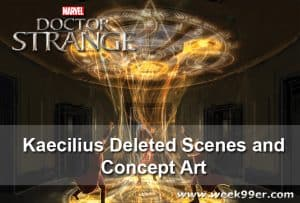 Doctor Strange – Kaecilius Deleted Scenes and Concept Art #DoctorStrange #DoctorStrangeEvent