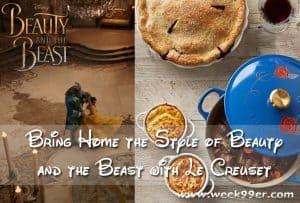Bring Home the Style of Beauty and the Beast with Le Crueset #BeOurGuest #BeautyAndTheBeast