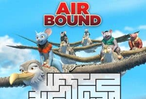 Air Bound Printable Maze Activity Sheet