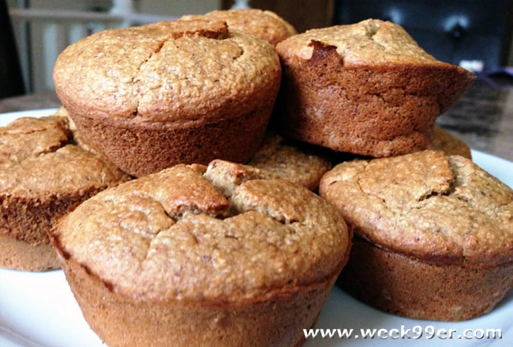 gluten free oat and banana muffin recipe