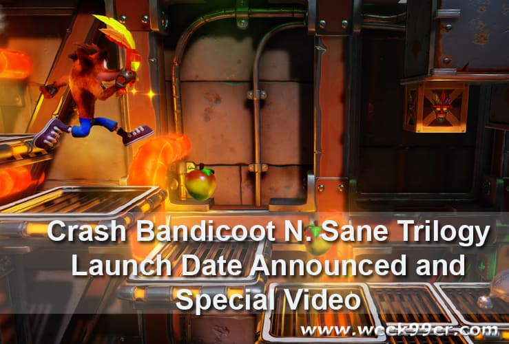 Crash Bandicoot N.Sane Trilogy release date