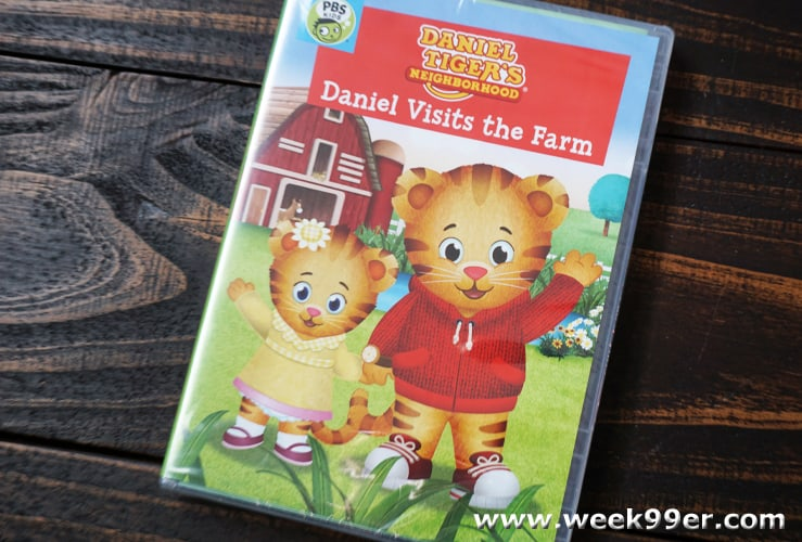 daniel tiger daniel visits the farm review