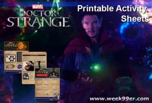 Doctor Strange Printable Activity Sheets #DoctorStrange #DoctorStrangeEvent