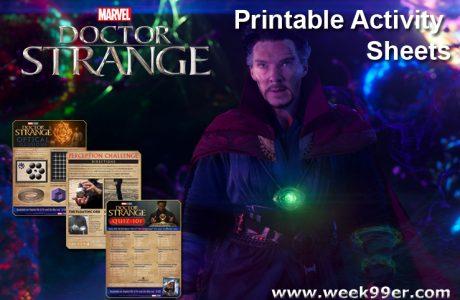 Doctor Strange Printable Activity Sheets #DoctorStrange #DoctorStrangeEvent