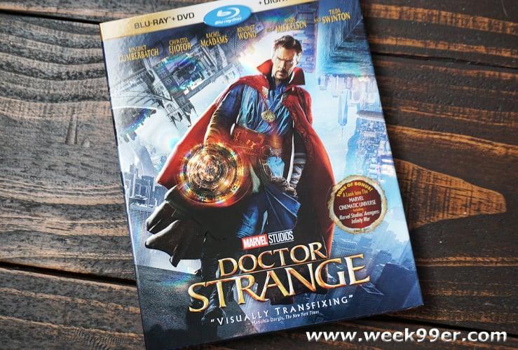 doctor strange bluray release