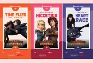 DreamWorks Dragons Race to the Edge Printable Valentines #DreamWorksDragons