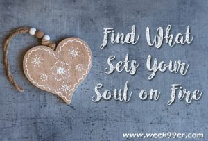 Find What Sets Your Soul on Fire #Behindtheblogger