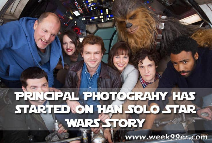 Principal Photography has Started on Han Solo Star Wars Story #starwars #punchit