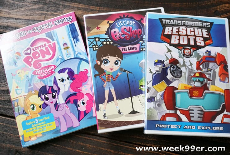 Hasbro TV Show DVD Giveaway