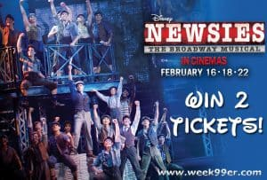 Enter to Win Tickets to Disney Theatrical Newsies in Theaters!