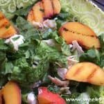 Grilled Peach and Chicken Salad Recipe