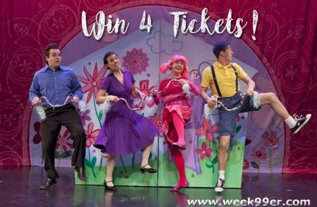 Win 4 Tickets to See Pinkalicious at the City Theatre in Detroit!