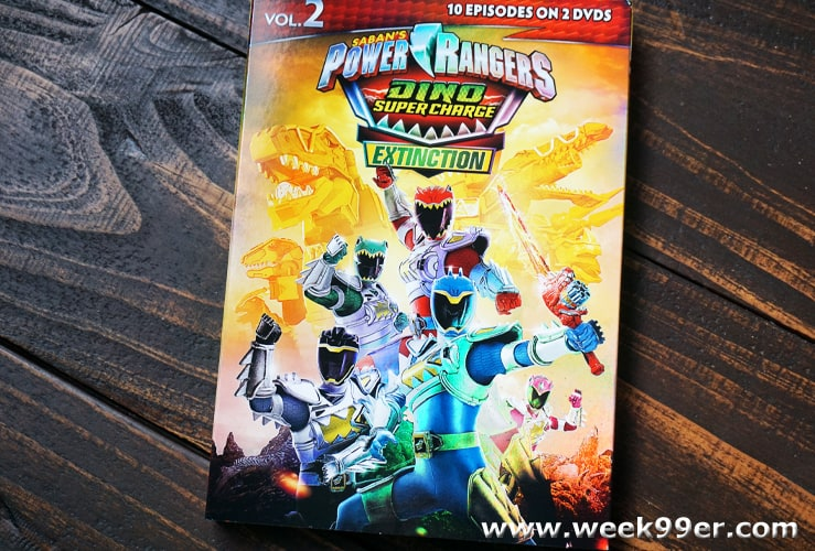 power rangers dino charge extinction